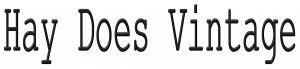 Hay Does Vintage Logo